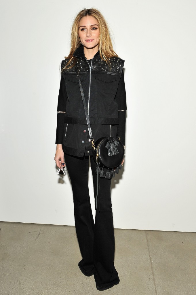 Rebecca-Minkoff-show-Olivia-styled-all-black-outfit